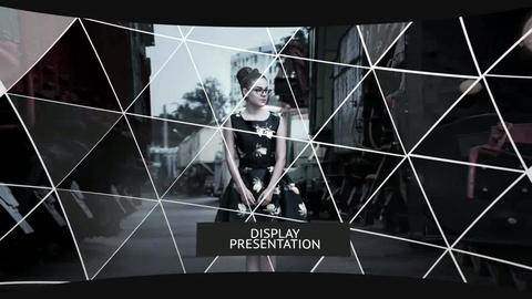 Display Presentation After Effects Template