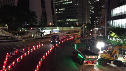 Tokyo Shinjuku Night traffic ed GIO IMG 2206 Footage