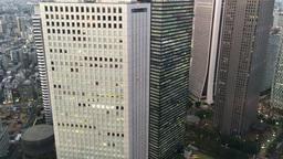 Tokyo Shinjuku Aerial ed GIO IMG 2200 Footage