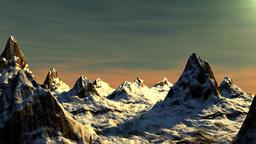 Mountains stock footage