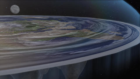 Flat Earth Diagram Over the Edge Live Action