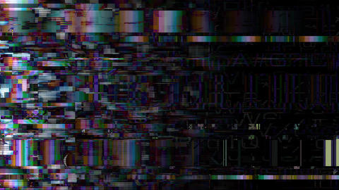 Data Glitch 023: Streaming data distortion Animation