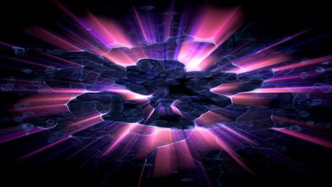 Light FX2024: Abstract flickering light burst Animation