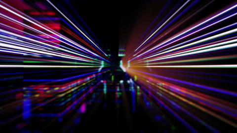 Light FX2032: Futuristic technology light abstraction… Stock Video Footage
