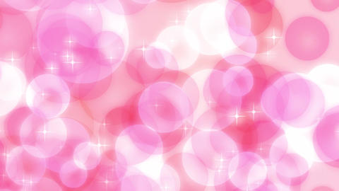 Loop Stock Pastel Particle Background /Pink/