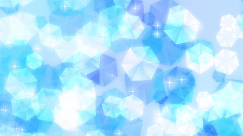 Loop Stock Pastel Particle Background /Blue/ 1