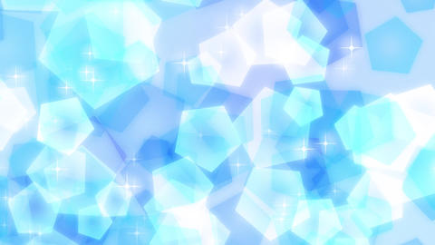 Loop Stock Pastel Particle Background /Blue/ 2