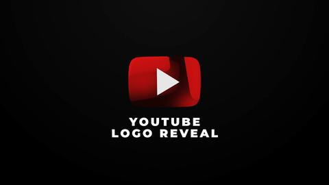 Youtube Logo Reveal After Effects Template
