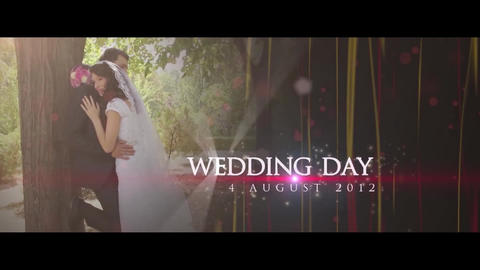 Wedding Teaser After Effects Template