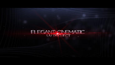 Elegant Cinematic After Effects Template