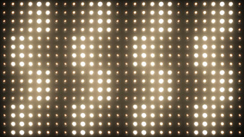 Wall of Lights Vj Loops Flashing Floodlight Lighting Stage 4K Ultra HD Animation