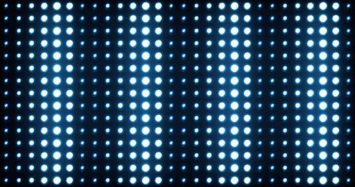 Lights Stage Blue 4K Footage