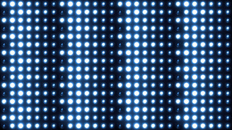 Lights Wall of Flashing Lights 4K Vj loop Animation