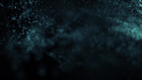 Darkblue Abstract Particles Background 3 CG動画素材