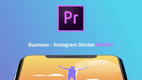 Business - Instagram Stories Motion Graphics Template