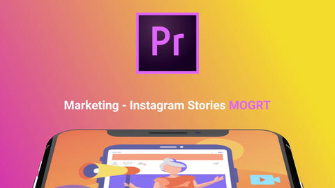 Marketing - Instagram Stories Motion Graphics Template