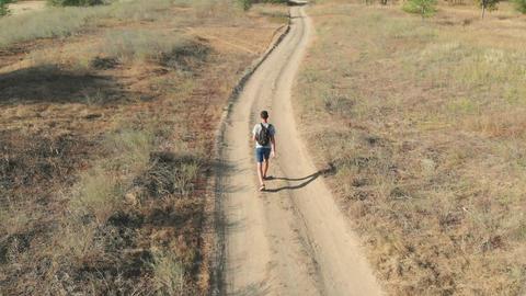 Walking man GIF
