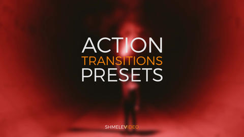 Action Transitions Presets Premiere Pro Template