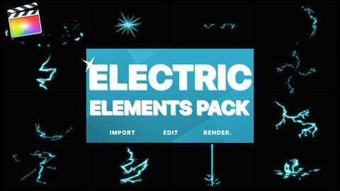 Electric Elements Apple Motion Template