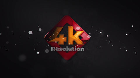 Glossy Particle Logo Reveal After Effects Template