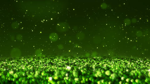 Green Shiny glitter seamless loop abstract texture close up macro background Animation