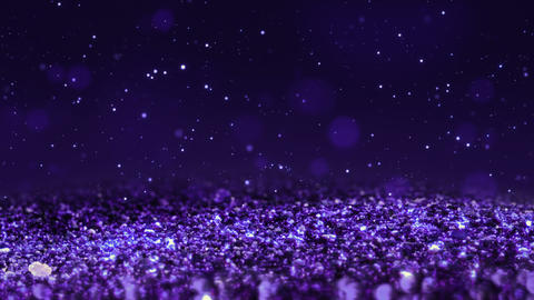 Purple Shiny glitter seamless loop abstract texture close up macro background Animation