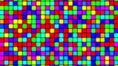 mov81_mosaic_light_loop_01 CG動画