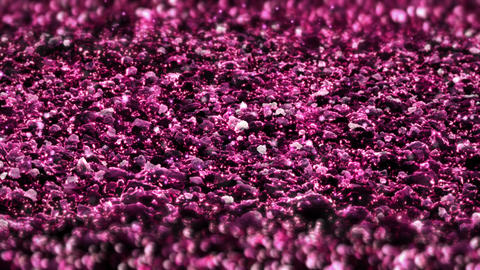 Pink Shiny glitter seamless loop abstract texture close up macro background Animation
