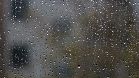 Rain  Outside stock footage