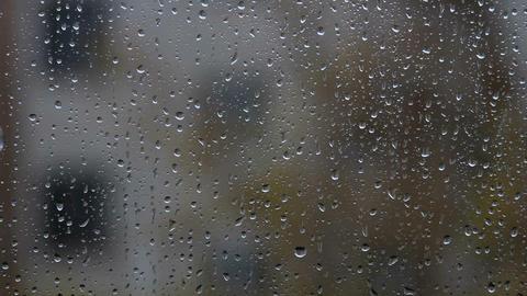 rain outside Footage