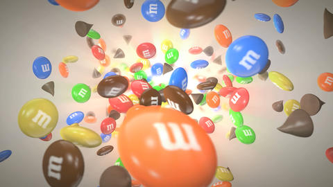 Chips and Candies Stock Video Footage