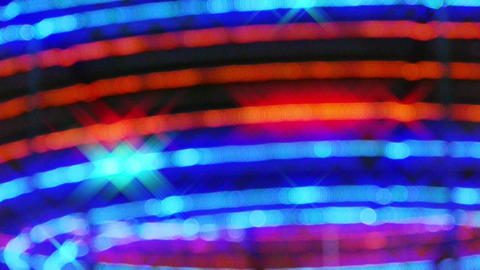 Flashing Neon pattern Stock Video Footage