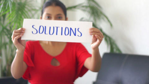 Solutions Stock Video Footage