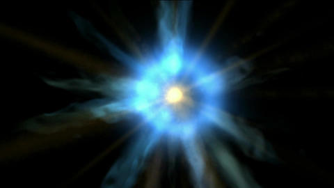 throught tunnel hole in universe,power rays laser energy... Stock Video Footage