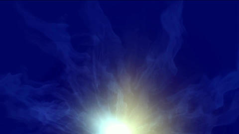dazzling light wave pulse from vortex tunnel hole in... Stock Video Footage