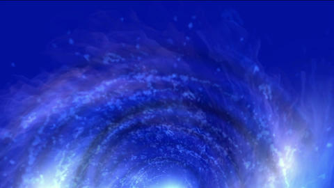 energy vortex in universe,travel in tunnel hole Stock Video Footage