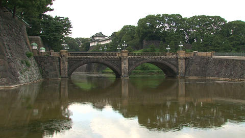 Imperial palace 05 Stock Video Footage