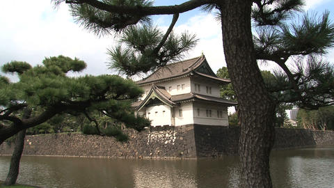 Imperial palace 07 Stock Video Footage