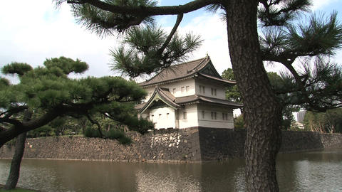 Imperial palace 07 Footage