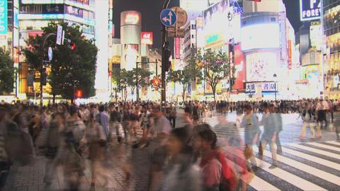 Shibuya Crossroad 01 Stock Video Footage