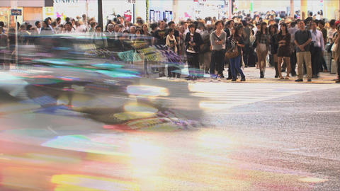 Shibuya Crossroad 05 Stock Video Footage
