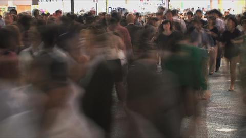 Shibuya Crossroad 05 Stock Video Footage