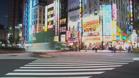 Shinjuku 02 Stock Video Footage