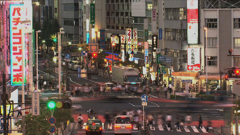 Shinjuku 04 Stock Video Footage