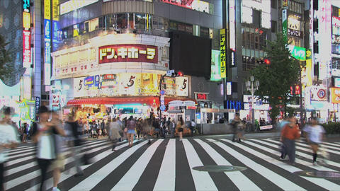 Shinjuku 06 Stock Video Footage