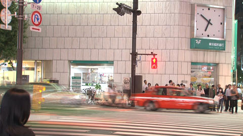 Shinjuku 09 Stock Video Footage