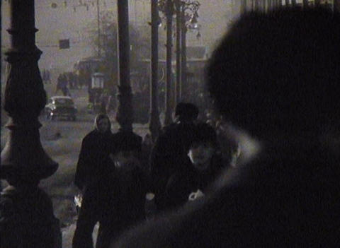 Newsreel, the people of the USSR, the city Footage