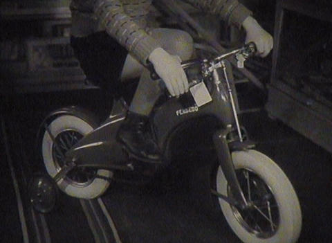 Newsreel Soviet Union, the old toys Stock Video Footage
