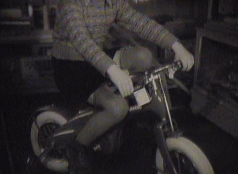 Newsreel Soviet Union, the old toys Stock Video Footage
