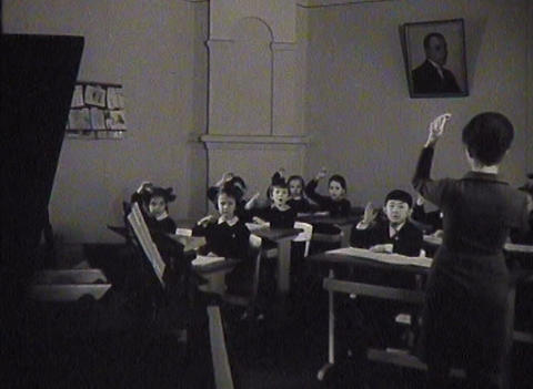 Music school. Newsreel Stock Video Footage